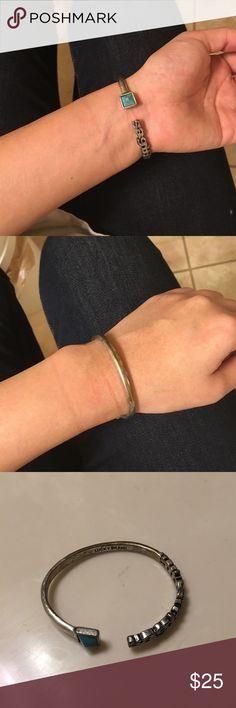 Lucky brand Torquoise/silver bracelet Vintage style Lucky Brand Jewelry Bracelets