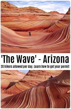 Komplette Anleitung zu The Wave - Arizona. - Complete guide to The Wave – Arizona. Komplette Anleitung zu The Wave – Arizona. The Wave Arizona, Sedona Arizona, Phoenix Arizona, The Wave Utah, Moab Utah, Scottsdale Arizona, Arizona Road Trip, Arizona Travel, Usa Roadtrip