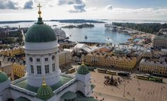 Bird`s eye view of Helsinki - by the Finnish newspaper Helsingin Sanomat (HS) Lappland, Great Places, Places To See, Beautiful Places, Montenegro, Baltic Sea Cruise, Bósnia E Herzegovina, Visit Helsinki, Finland Travel