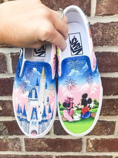 Alice in Wonderland Shoes by KissaThisArt on Etsy, $135.00