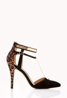 Futuristic-Strap Stilettos | FOREVER21 Cute to the T