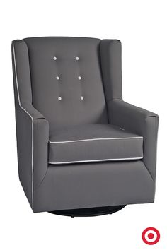 Rock And Cuddle Your Baby In The Comfy Charleston Swivel Glider By Little Castle Made