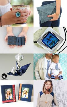 Lady in Blue by Hagit Colb on Etsy--Pinned with TreasuryPin.com