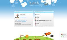 hutch.hu - (2012, design, sitebuilding)