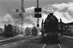 Pacific 231, gare Saint-Lazare, 1937, René-Jacques Charenton-le-Pont, Médiathèque de l'Architecture et du Patrimoine