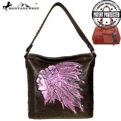MW510G-121 Montana West Native American Concealed Carry Hobo Bag-CF/PK $62.99 #Womens #MontanaWest #ConcealedCarryPurses #unspokenfashion #fashion #onlineshopping #boutique #stylish #trending #clothing #shoes #handbags #corsets #costumes