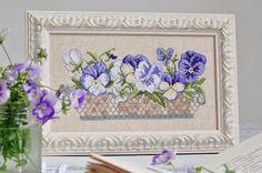 ~Oh! la belle jardinière~ от Veronique Enginger   J'aime la broderie française