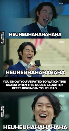 You know him if you watch Fated to Love You (korean ver) omg this guys laugh is the best