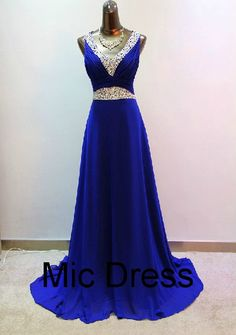 V-neck straps floor-length chiffon with sequins and beads lace up back long homecoming dresses and bridemaid dresses for hot sale