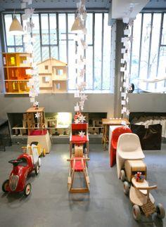 Ancien Showroom Little Fashion Gallery du 3 rue du jour dans le 1er arrondissement de Paris.