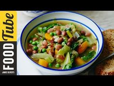 Chunky Vegetable Soup | Jools Oliver | #TBT - YouTube