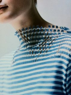 So modern and of course Japanese take on the French Stripe by designer WATANABE