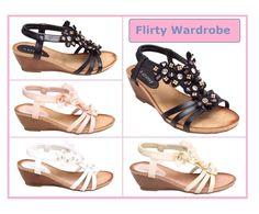 #Womens #Sandals #Ladies #FlowerBeads #Strappy #Shoes #WedgeHeel #Officesandals #Worksandals #Casualsandals    http://cgi.ebay.co.uk/ws/eBayISAPI.dll?ViewItem&item=302321777180&roken=cUgayN&soutkn=vVJlkF @eBay #flirtywardrobe