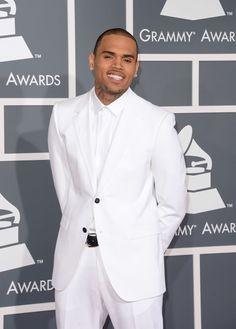 He looks so sexy in all white Hmmmmmmmm....