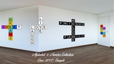 Alphabet B White Canvas Print Black Frame Kids Bedroom Wall Décor Home Art
