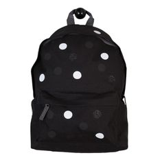 Polkadot Backpack Black | Shapes of Things | Wolf