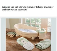 Summer Infant Lil Luxuries Whirlpool Spa Shower
