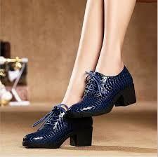 zapato oxford mujer moda