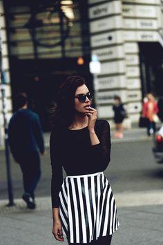 stripes / street style