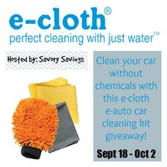 DebsHere: E-Cloth Car Cleaning Kit Giveaway! 10/02