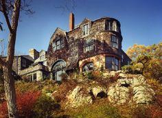 Loring House at Beverly Massachusetts, circa 1884.