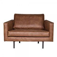 Sessel Sofa RODEO Echtleder Leder Lounge Couch Armsessel cognac
