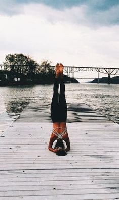 #yoga #woman #black #fit #fitness #pose #workout