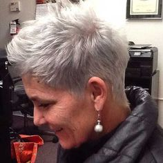Short Hairstyle for Women Over 50 Source Pixie Haircut for Women Source Natural Grey Haircut for Women Over 50 Source Choppy Short Haircut for Women Source Short Blonde Pixie Hairstyle Source Modern and Short… Continue Reading → Blonde Pixie Hair, Short Blonde Pixie, Short Grey Hair, Short Hairstyles For Thick Hair, Haircut For Thick Hair, Very Short Hair, Short Pixie Haircuts, Hairstyles Over 50, Pixie Hairstyles
