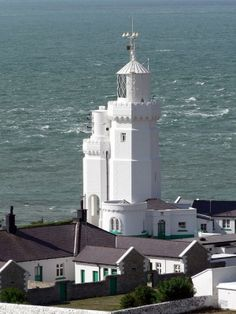 St Catherine's Lighthouse, Isle of Wight, England by lostajy