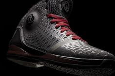 detailed look 9f32b 9fc2c adidas Rose 3.5 Dark Grey Bred Sport Red for sale Adidas Basketball shoes  2013 Adidas Basketball