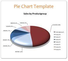 Pie Chart Templates Pie Chart Templates  4 Printable Pdf Excel & Word  Sampleformats .