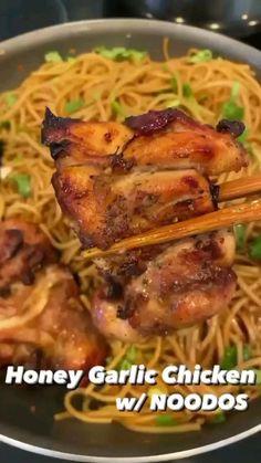 Low Calorie Recipes, Gluten Free Recipes, Keto Recipes, Vegetarian Recipes, Dinner Recipes, Garlic Chicken Recipes, Honey Garlic Chicken, Healthy Chicken Recipes, Easy Cooking