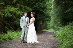 Sean & Alexandra's Somerset Wedding Photography in the woods around Watchet.