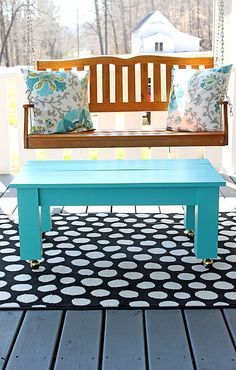 Sleek and Stylish DIY Coffee Tables   Decorating Your Small Space
