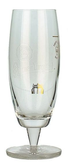 Pilsner Urquell Goblet Glass (Half Pint)   World Glasses