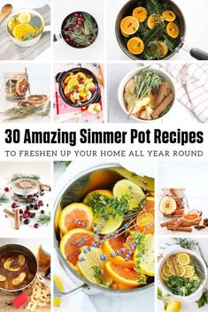 30 Amazing Simmer Pot Recipes for Every Season / Ger all the yummy house smells . Simmering Potpourri, Stove Top Potpourri, House Smell Good, House Smells, Homemade Potpourri, Pot Pourri, Christmas Scents, Christmas Tree, Home Scents