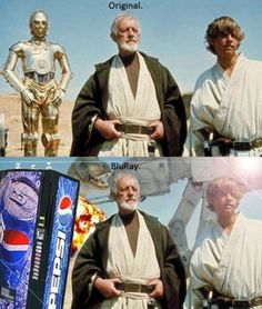 HA! But really, sometimes I hate George Lucas
