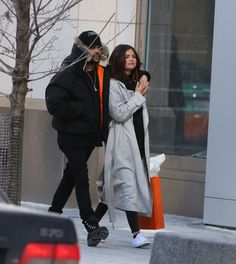 March 16: Selena out in Toronto, Canada