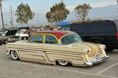 1954 Ford, Sweet Cars, Pinstriping, Street Rods, Lowrider, Kustom, Slammed, Buick, Old Cars