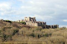Dover Coronavirus Lockdown Blog UK: Dover Castle from the East, Dover, Kent, UK