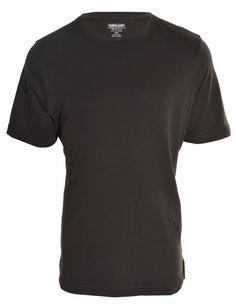 Peruvian Pima Mens Cotton Crew Neck TShirt Short Sleeve 100% Cotton Tee Shirt  #KirklandSignature #BasicTee