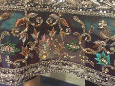 Embroidery Suits Punjabi, Zardozi Embroidery, Tambour Embroidery, Hand Work Embroidery, Indian Embroidery, Gold Embroidery, Hand Embroidery Designs, Embroidery Dress, Embroidery Patterns