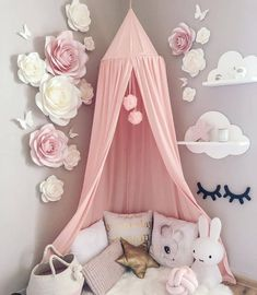 Trendy girl room décor | Looking for more girl's room inspirations? Check Circu Magical furniture and their exclusive design!