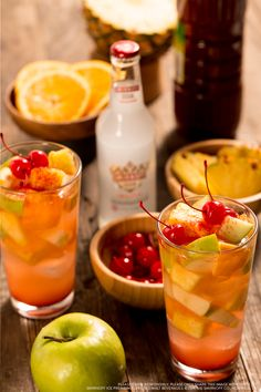 Spice up your autumn with a Smirnoff ICE Original Preparada. Fill a cup with ice. Add chopped oranges, chopped green apples, pineapple chunks. Top with chili lime seasoning and chamoy, to your taste. Pour one (11.20z) bottle Smirnoff Ice® Original and top with maraschino cherries. Cheers!