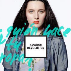 El 24.04.14 preguntamos ¿Quién hace tu ropa? Por una industria de la moda más transparente y sustentable. #dalelavuelta #insideout.@FashRevColombia