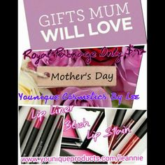 Mothers day special. Order before 20th April to get mums gift delivered to your door. Love your mum with Younique Cosmetics By Lee. www.youniqueproducts.com/leannie