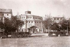 Hacia 1870 Antiguo Teatro Circo de Madrid Paseo de Recoletos