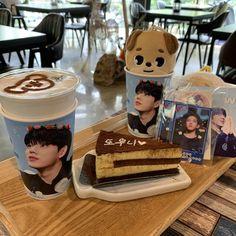 Bts Cafe, Cofee Shop, Korean Cafe, Miss Korea, Cup Sleeve, Coffee Store, How To Look Handsome, Kpop Merch, Cute Korean