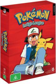 Pokemon - Season 1: Indigo League (6 Disc Set), $29.99