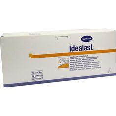 IDEALAST Binde 10 cmx5 m weiß:   Packungsinhalt: 10 St Binden PZN: 02720980 Hersteller: PAUL HARTMANN AG Preis: 48,22 EUR inkl. 19 %…